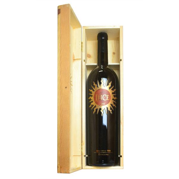 ルーチェ 2013年 ルーチェ・デッラ・ヴィーテ マグナムサイズ 木箱入り 正規 1500ml (イタリア トスカーナ 赤ワイン)
