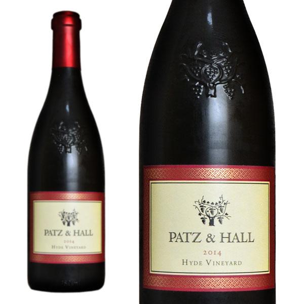 パッツ&ホール ハイド ヴィンヤード ピノ・ノワール 2014年 750ml (アメリカ カリフォルニア 赤ワイン)
