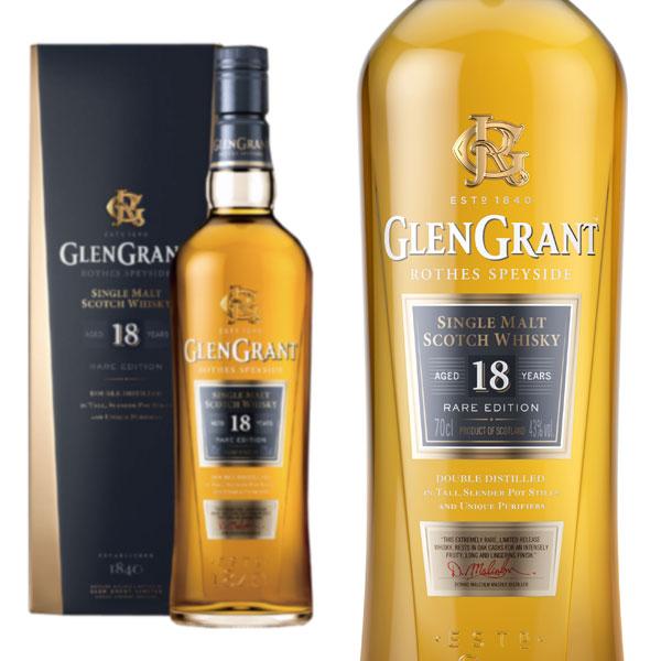 グレン グラント 18年 43% 700ml 箱入り 正規 (シングルモルト スコッチ ウイスキー)