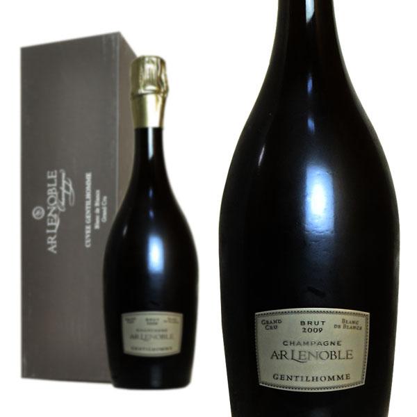 シャンパン A.R. ルノーブル グラン・クリュ ジャンティ・オム ミレジム2009年 750ml 箱入り (フランス シャンパーニュ 白)