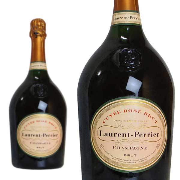 シャンパン ローラン・ペリエ キュヴェ・ロゼ ブリュット マグナムサイズ 1500ml 正規 (フランス シャンパーニュ ロゼ 箱なし)