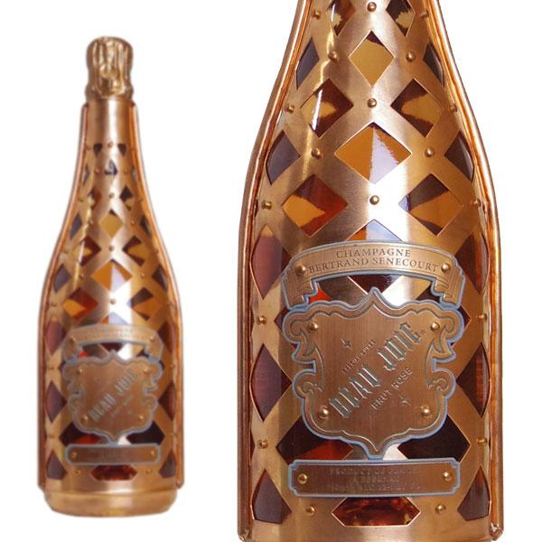 ボー・ジョア スペシャルキュヴェ ブリュット・ロゼ シャンパーニュ ベルトラン・セネクール 750ml (フランス シャンパン 箱なし)