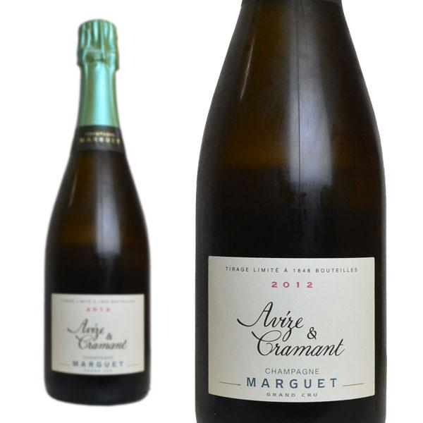 シャンパン マルゲ グラン・クリュ アヴィーズ&クラマン ブラン・ド・ブラン ブリュットナチュール ミレジム 2012年 750ml (シャンパーニュ 白 箱なし)