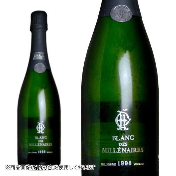 シャンパン シャルル・エドシック ブラン・デ・ミレネール ミレジム 2004年 750ml 正規 (フランス シャンパーニュ 白 箱なし)
