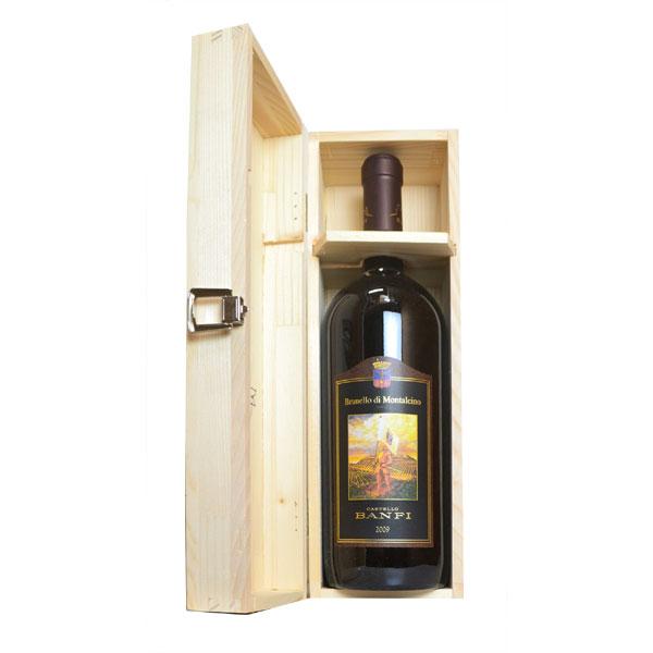 ブルネッロ・ディ・モンタルチーノ 2009年 カステッロ・バンフィ社 マグナムサイズ 木箱入り 1500ml 正規(イタリア トスカーナ 赤ワイン)