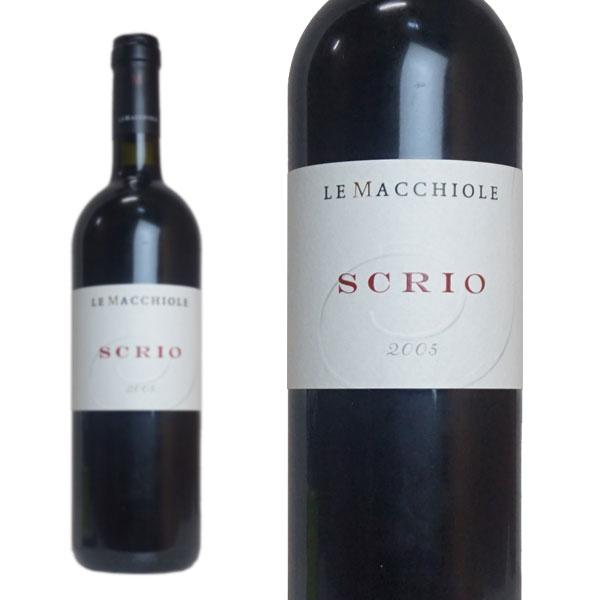 スクリオ 2005年 レ・マッキオーレ 750ml (イタリア 赤ワイン)