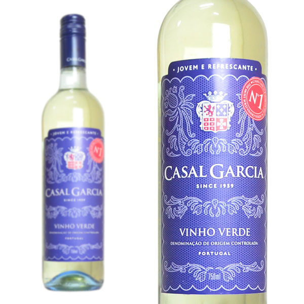 ヴィーニョ ヴェルデ NV カザル ポルトガル ガルシア 白ワイン トラスト 750ml 物品