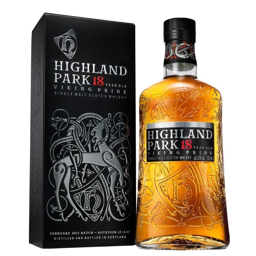 ハイランドパーク 18年 ヴァイキングプライド 43% 700ml 箱入り(シングルモルト スコッチ ウイスキー)