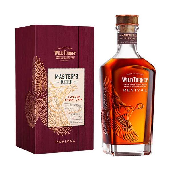 ワイルドターキー マスターズキープ リバイバル 50.5% 750ml 箱入り 正規 (アメリカ バーボン ウイスキー)