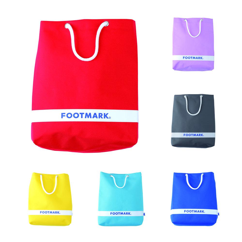 レトロ可愛い コンパクトで軽いスイムバック プールバック スイムバック 40%OFFの激安セール ついに再販開始 バッグ フットマーク ラウンド2 101481 footmark 水泳