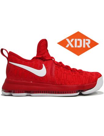 バスケットシューズ バッシュ  ナイキ Nike KD 9 EP U.Red/Wht