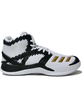バスケットシューズ バッシュ  アデイダス Adidas SPG R.Wht/Gold/C.Blk