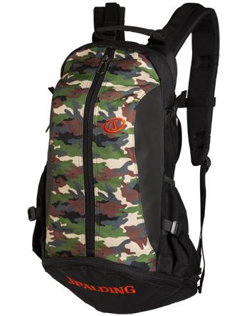 バスケットバッグ バックパック リュック スポルディング Spalding Bag Cager W.Camo