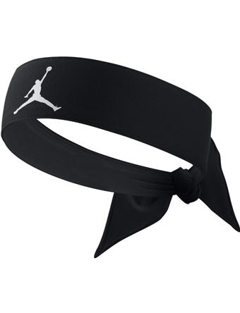 篮球配饰乔丹耐克Jordan Head Tie AJ Jumpman D/F Blk