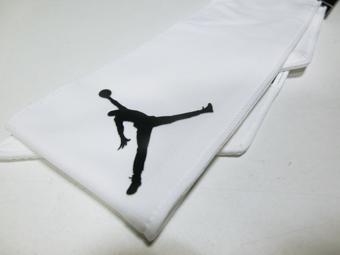 篮球配饰乔丹耐克Jordan Head Tie AJ Jumpman D/F Wht