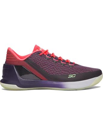 バスケットシューズ バッシュ  ナイキ Nike Curry 3 Low I.Purp/L.Fizz/Wht