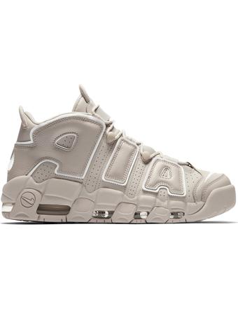 バスケットシューズ バッシュ スニーカー  ナイキ Nike Air More Uptempo L.Bone/Wht  ストリート