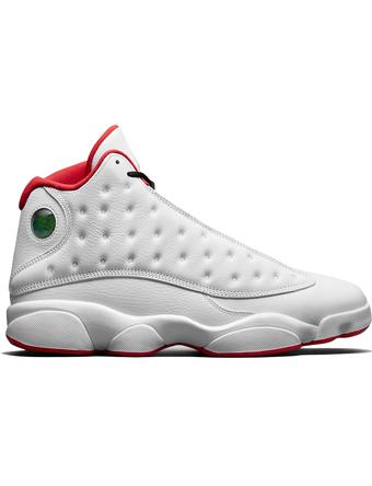 """バスケットシューズ バッシュ スニーカー  ジョーダン ナイキ Jordan Air Jordan 13 Retro """"History of Fligh"""" Wht/M.Sil  ストリート"""