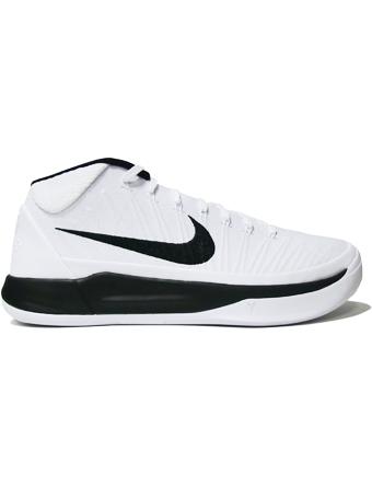 バスケットシューズ バッシュ  ナイキ Nike Kobe A.D. Mid Wht/Blk