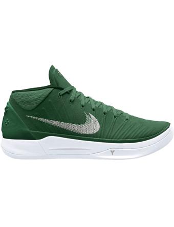 バスケットシューズ バッシュ  ナイキ Nike Kobe A.D. Mid G.Grn/M.Sil/Wht