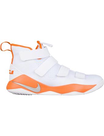 バスケットシューズ バッシュ  ナイキ Nike Soldier 11 TB Wht/M.Sil/C.Org