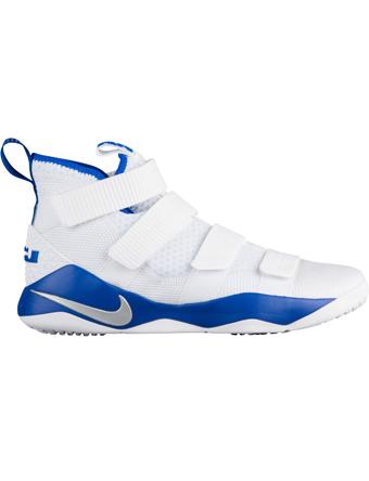 バスケットシューズ バッシュ  ナイキ Nike Soldier 11 TB Wht/M.Sil/G.Royal
