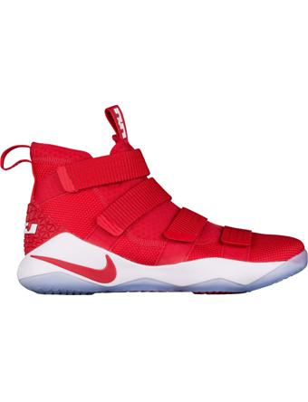 バスケットシューズ バッシュ  ナイキ Nike Soldier 11 TB U.Red/Wht