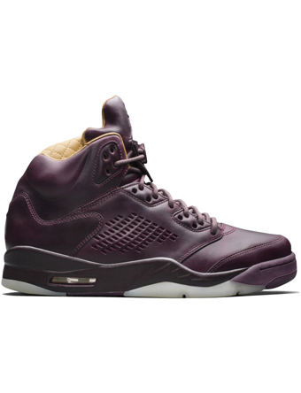 バスケットシューズ バッシュ スニーカー  ジョーダン ナイキ Jordan Air Jordan 5 Retro Premium Bordeaux  ストリート