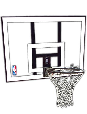 バスケットバックボード スポルディング Spalding NBAコンボ Clear