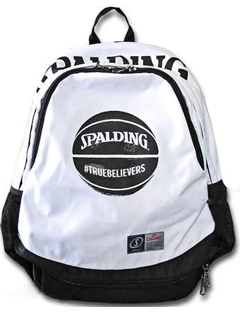 バスケットバッグ バックパック リュック スポルディング Spalding Bag RiseBall Wht