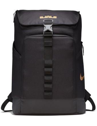 バスケットバッグ バックパック リュック ナイキ Nike Lebron MaxAir AMBA BackPack Blk/M.Gold  ランニング トレーニング ストリート