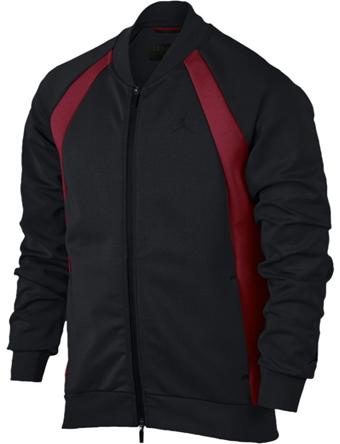 バスケットジャケット ウェア 秋冬物 ジョーダン ナイキ Jordan Jordan JSW Tech Fleece Jacket Blk/G.Red  ランニング トレーニング ストリート 【MEN'S】