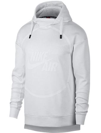 バスケットパーカー ウェア 秋冬物 ナイキ Nike Air P/O Fleece Hoody P.Platium  ランニング トレーニング ストリート 【MEN'S】
