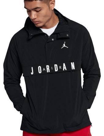 バスケットジャケット ウェア 秋冬物 ジョーダン ナイキ Jordan Jordan Wings Anorak Blk/Wht  ランニング トレーニング ストリート 【MEN'S】