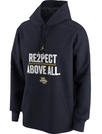 バスケットパーカー ウェア 秋冬物 ジョーダン ナイキ Jordan Jordan College Re2pect Above All Hoodie Golden Eagles  ランニング トレーニング ストリート 【MEN'S】