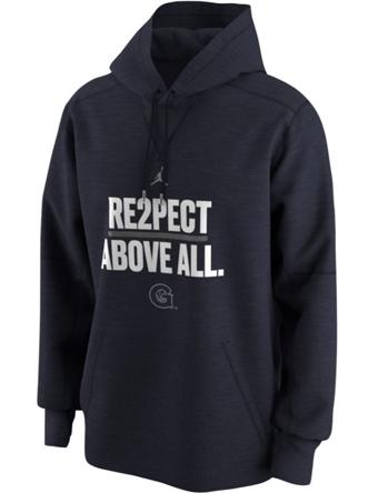 バスケットパーカー ウェア 秋冬物 ジョーダン ナイキ Jordan Jordan College Re2pect Above All Hoodie Hoyas  ランニング トレーニング ストリート 【MEN'S】