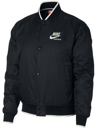 バスケットジャケット ウェア 秋冬物 ナイキ Nike Padded Archive Jacket Blk/Sail  ストリート 【MEN'S】