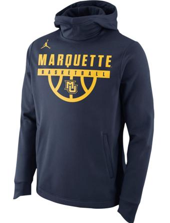 バスケットパーカー ウェア 秋冬物 ジョーダン ナイキ Jordan Jordan College Elite Pullover Therma Hoodie Marquette  ストリート 【MEN'S】