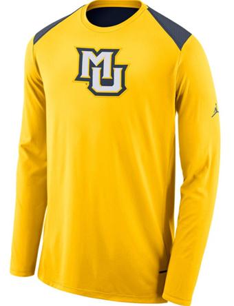 バスケットロング Tシャツ ウェア  ジョーダン ナイキ Jordan Jordan College L/S Shooter Shirt Marquette  ストリート 【MEN'S】