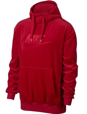 バスケットパーカー ウェア 秋冬物 ナイキ Nike Velour Pullover Hoodie G.Red  ランニング トレーニング ストリート 【MEN'S】