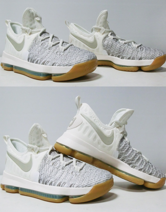 """basukettoshuzujuniakizzubasshunaiki Nike KD 9 GS""""Summer Pack""""GS Ivory/P.Gry小孩"""