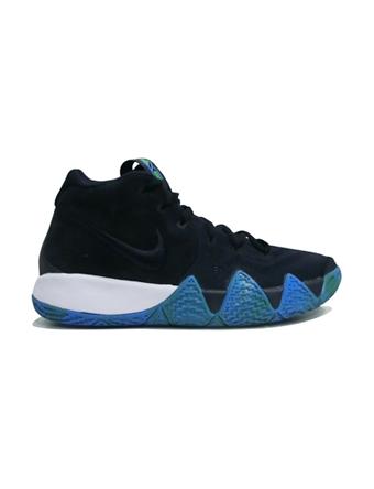 バスケットシューズ ジュニア キッズ バッシュ  ナイキ Nike Kyrie 4 GS GS D.Obsidian/Blk  【GS】キッズ