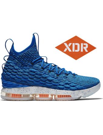 バスケットシューズ バッシュ  ナイキ Nike Lebron 15 EP HWC P.Blu/T.Org