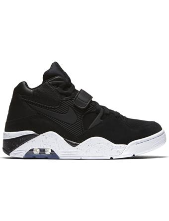 バスケットシューズ バッシュ スニーカー  ナイキ Nike Air Force 180 Blk/Wht  ストリート