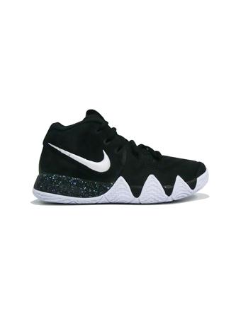 バスケットシューズ ジュニア キッズ バッシュ  ナイキ Nike Kyrie 4 PS PS Blk/Wht  【PS】