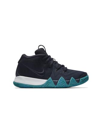 バスケットシューズ ジュニア キッズ バッシュ  ナイキ Nike Kyrie 4 PS PS D.Obsidian/Blk  【PS】