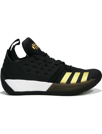 バスケットシューズ バッシュ  アデイダス Adidas Harden Vol.2 C.Blk/U.Blk/Gold