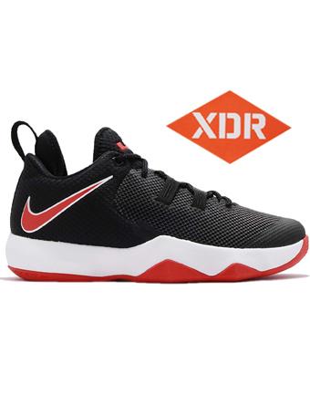 バスケットシューズ バッシュ  ナイキ Nike Ambassador X Blk/H.Red/Wht