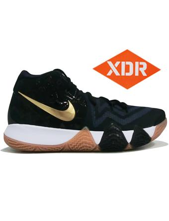 バスケットシューズ バッシュ  ナイキ Nike Kyrie 4 EP P.Blu/M.Gold