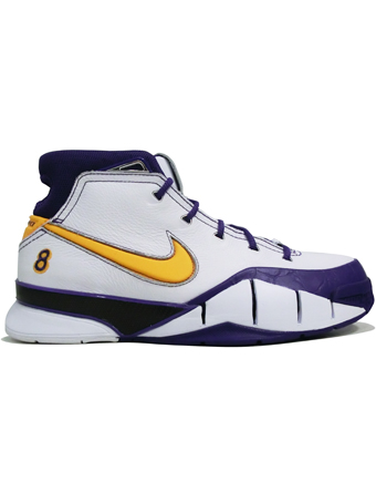 "バスケットシューズ バッシュ  ナイキ Nike Zoom Kobe 1 Protro QS ""Close Out"" Wht/D.Sol/V.Purp"